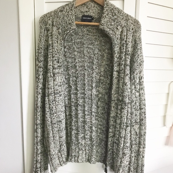 2812c17f2407eb Giorgio Armani Sweaters   Cahsmere Cardigan Sweater Size 46   Poshmark
